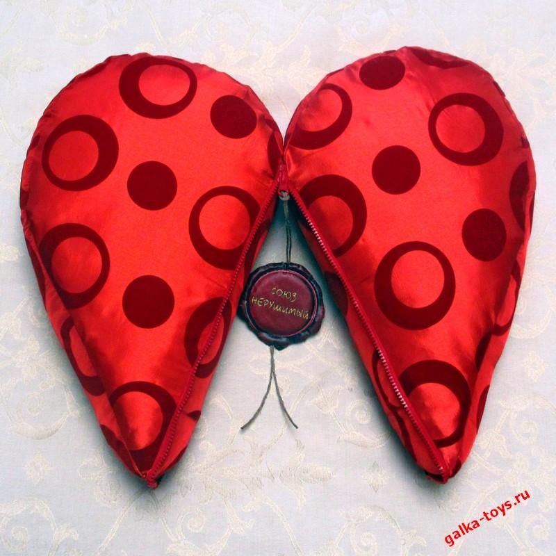 Подушка — Большое Сердце (союз нерушимый)