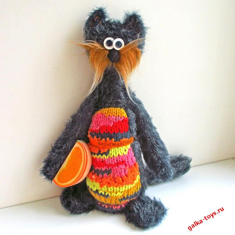 Кот жизнерадостный — оранжевое настроение