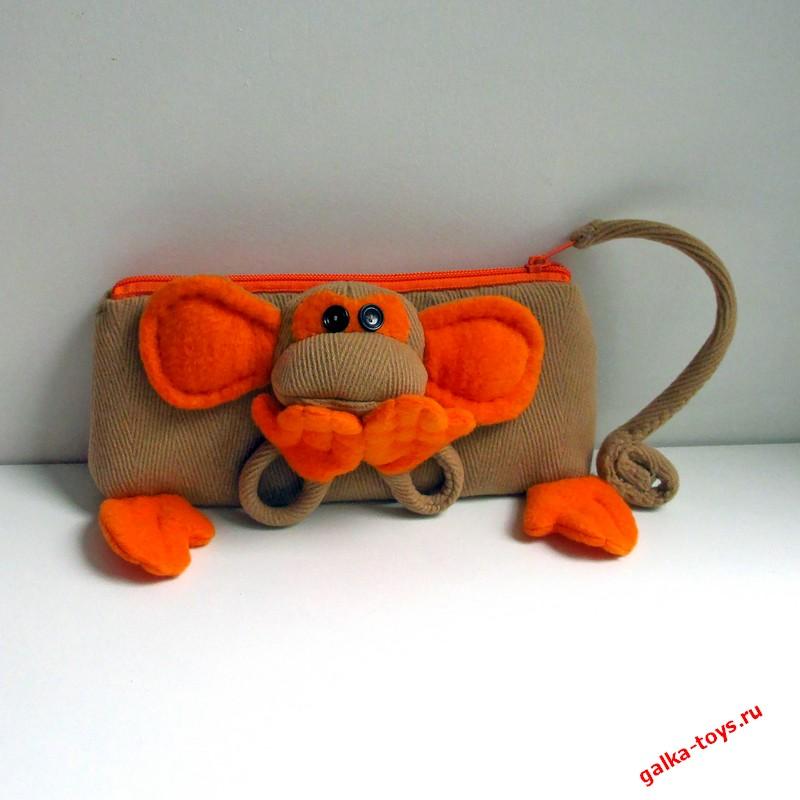 Косметичка — обезьянка с секретом