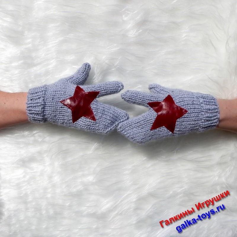 Перчатки вязаные — перчатки армейские — спец перчатки