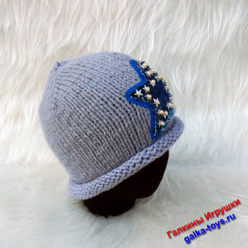 женская шапка вязаная спицами , шапка со звездой спицами , пятиугольная звезда , шапка для девушки спицами , вязаная серая шапка , вязаные шапки для девушек , шапки ярмарка мастеров , звезды в вязаных вещах , осенние шапки для девушек , шапки молодежные женские , звезды в вязаных шапках , шапка бини звезда ,