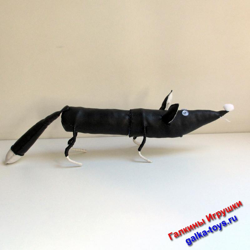 Оригинальный пенал чернобурая лисица