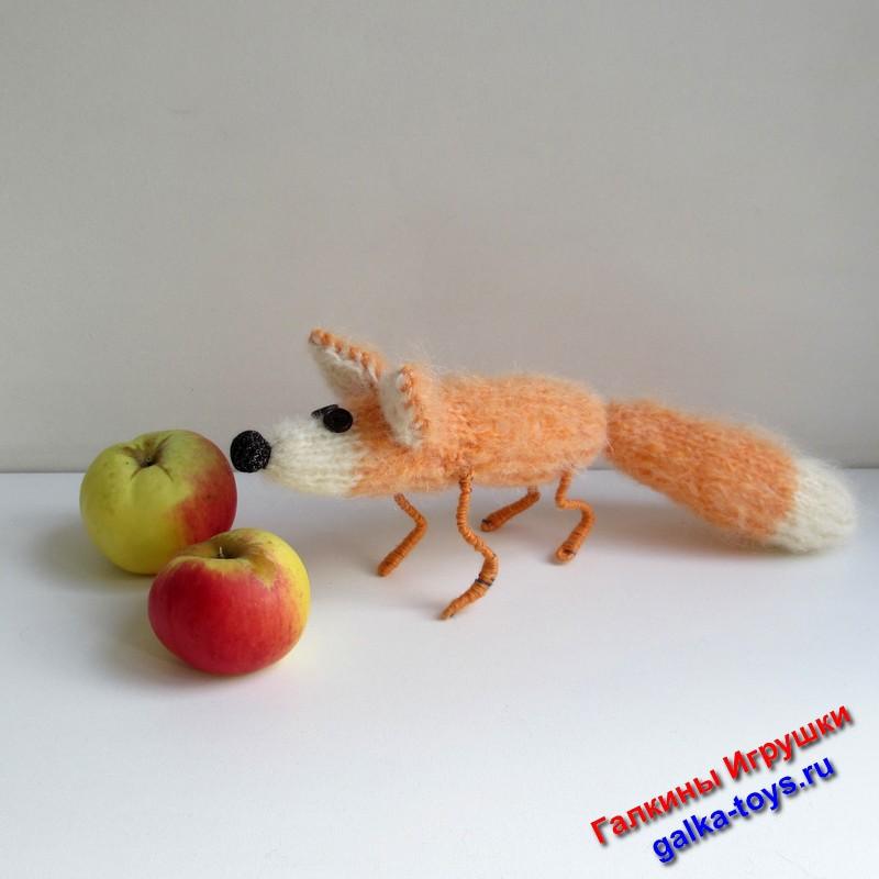 Лисенок игрушка