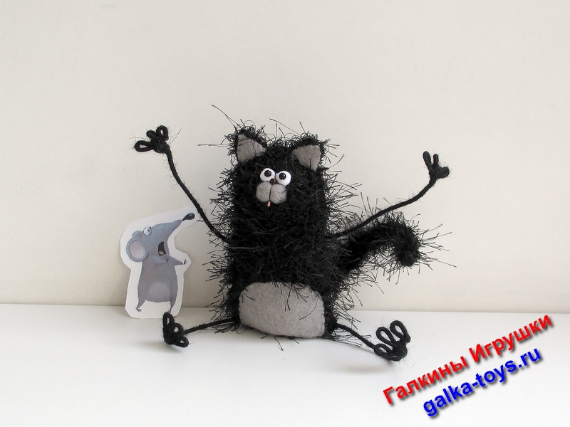 Игрушка котенок Шмяк