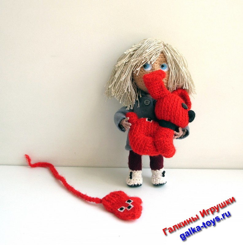 варежка мультик,герои советских мультиков,интерьерная кукла крючком,авторская кукла купить,вязаные игрушки куклы,куклы ручной работы цена