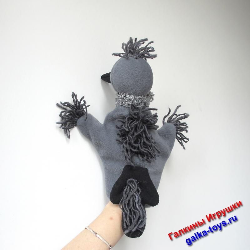 Перчаточная кукла - отличный подарок настоящему Галчонку большому или маленькому.  Птички - наше всё!!!